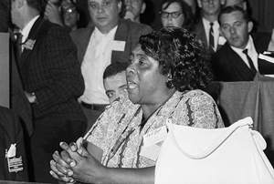 Fannie Lou Hamer was an American voting and women's rights activist, community organizer, and a leader in the civil rights movement.