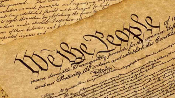 The United States Constitution is the supreme law of the United States